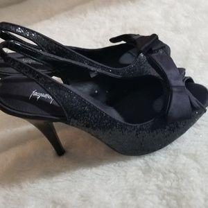 Jacqueline Ferra Peep-toe heels